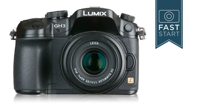 panasonic gh 3 camera faststart with john greengo