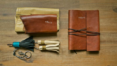 Upcycling Leather into Accessories