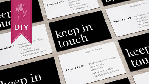 How to design business cards with lara mccormick how to design business cards reheart Images