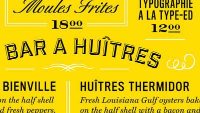 InDesign Typesetting: Design a Restaurant Menu