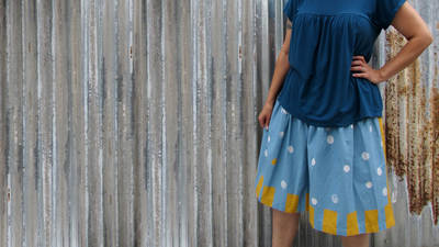 How to Sew Your First Skirt and Understand Patterns