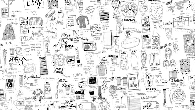 Drawing the Everyday Every Day with Kate Bingaman-Burt