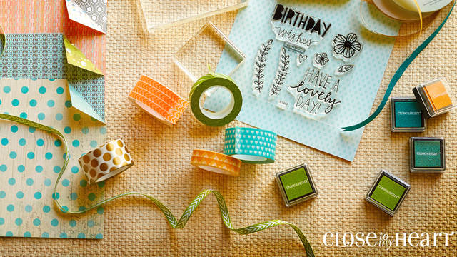 Scrapbooking, Paper Crafts, Stamping and More! with Close To My