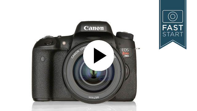 Drive Mode from Canon Rebel T6s/T6i Fast Start with John Greengo |  CreativeLive