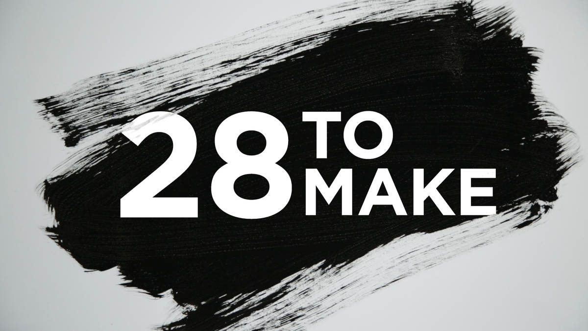 28 to make - Ideas For Graphic Design Projects