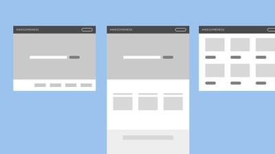 Website Planning and Wireframing