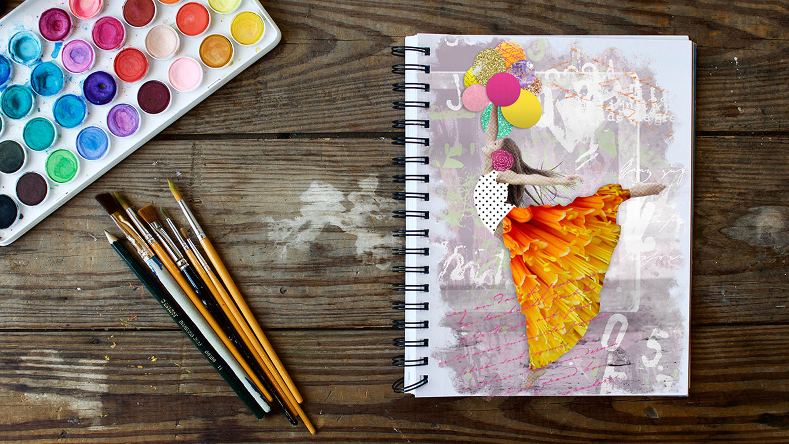 Creating Mixed Media Art in Photoshop® with Khara Plicanic