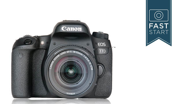 Canon EOS 77D Fast Start with John Greengo