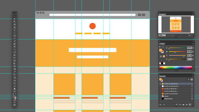 designing websites in illustrator effective workflow with brian wood