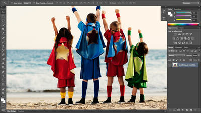 Adobe® Photoshop® CS6 New Features