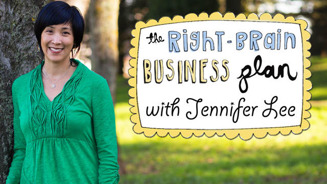 the right brain business plan with jennifer lee