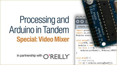 Processing and Arduino: Video Mixer