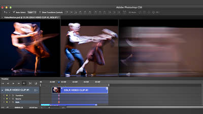 Video and Motion Graphics in Photoshop