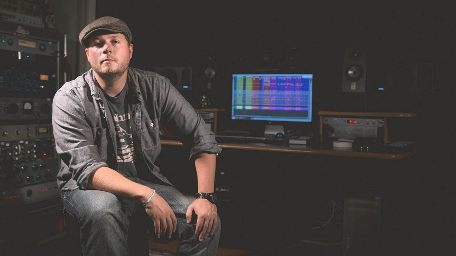 your firststudio job with andrew wuepper