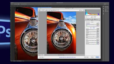Photoshop Camera Raw: Instant Image Retouching