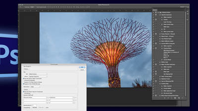 Automating Adobe® Photoshop® Using Actions, Droplets and Variables