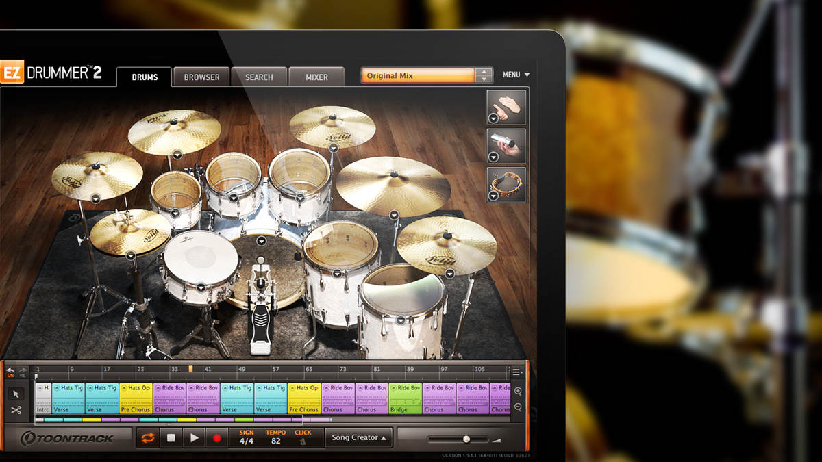 Songwriting with EZdrummer 2