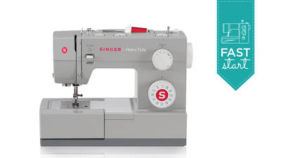Singer Heavy Duty™ Sewing Machine Model 4423 - Fast Start