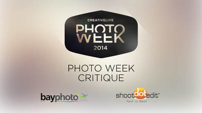 Photo Week Image Critique 2014 Hosted by Sue Bryce