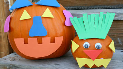 Halloween Crafts & Party Ideas