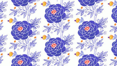 Pattern Design: From Hand to Screen to Surface