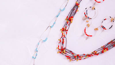 Wireworking with Beads for Jewelry Making