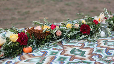 Decorative Floral Garlands