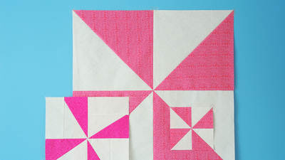 Playing with Pinwheels in Quilting