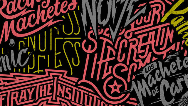 simple methods for custom lettering with brandon rike